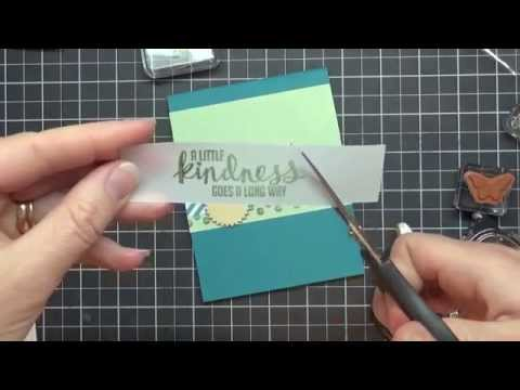 Stamping 101: How To Use Vellum Card Stock