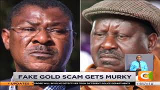 ODM warns Ruto against linking Raila to the fake gold scam