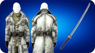 Fallout 3 - Уникальное оружие Самурайский меч , Шинель генерала Чейза