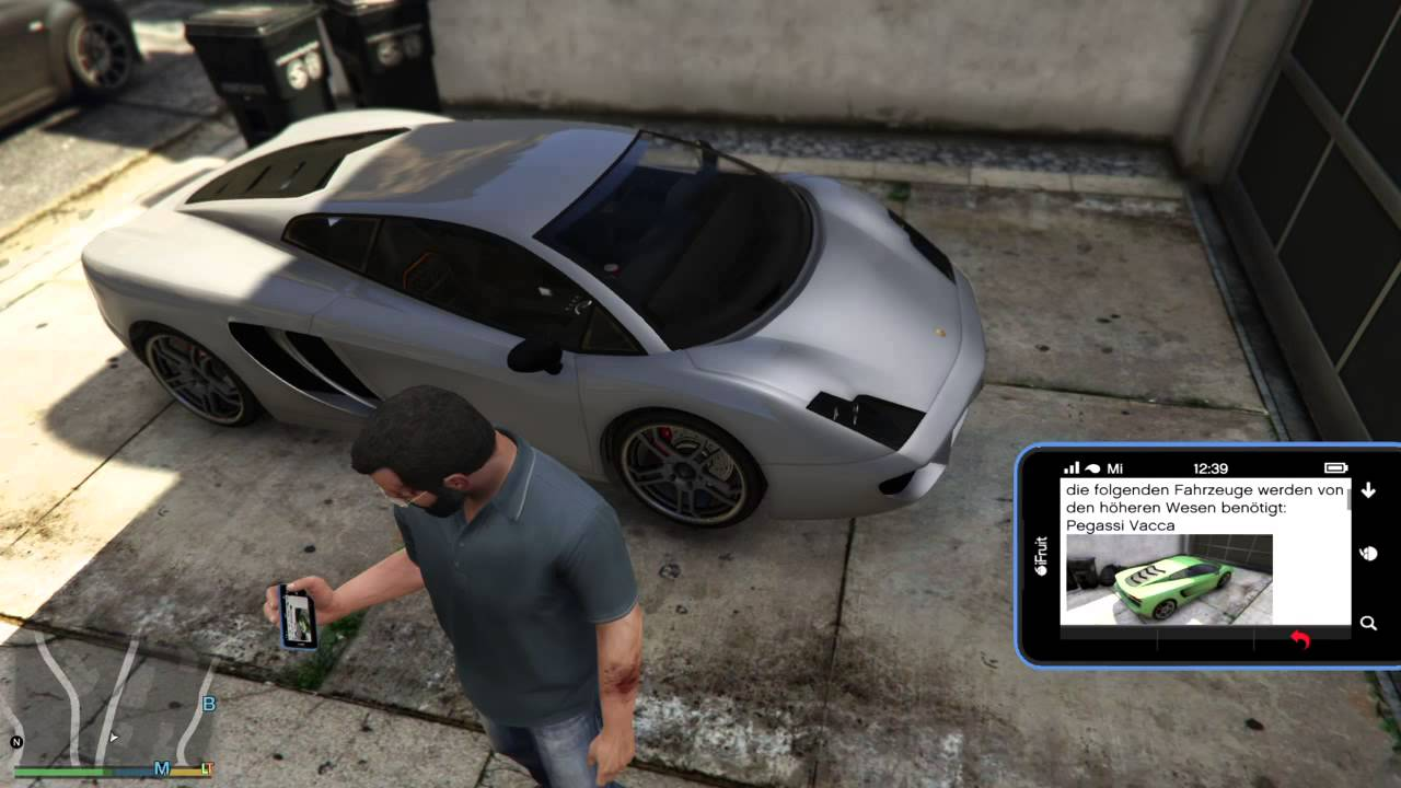 GTA5 Pegassi Vacca Location Ort Epsilon Car - YouTube