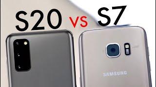 Samsung Galaxy S20 Vs Samsung Galaxy S7! (Quick Comparison)
