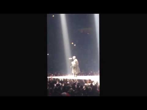 Kanye West rants about Michael Jordan on Yeezus tour in Chicago 12/18/2013