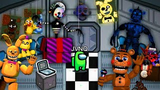 FIVE NIGHTS AT FREDDYS NO AMONG US
