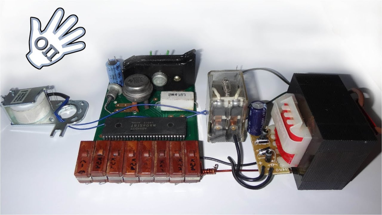 Electronic Code Lock Without Chips And Transistors Very