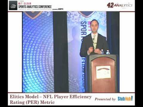 Elitics Model   NFL Player Efficiency Rating PER Metric