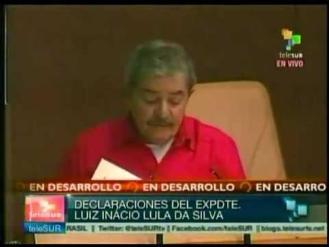 Intervención de Luis Inacio Lula Da Silva Por el Equilibrio del Mundo.
