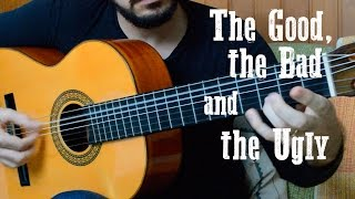 The Good, the Bad and the Ugly theme - Fingerstyle Guitar (Marcos Kaiser) #89