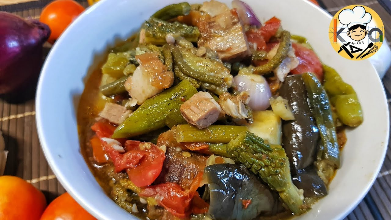 Authentic Ilocano Pinakbet One Pot Ilocano Pinakbet Youtube