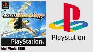Cool Boarders 4 (PS1)(1999) Intro + Gameplay