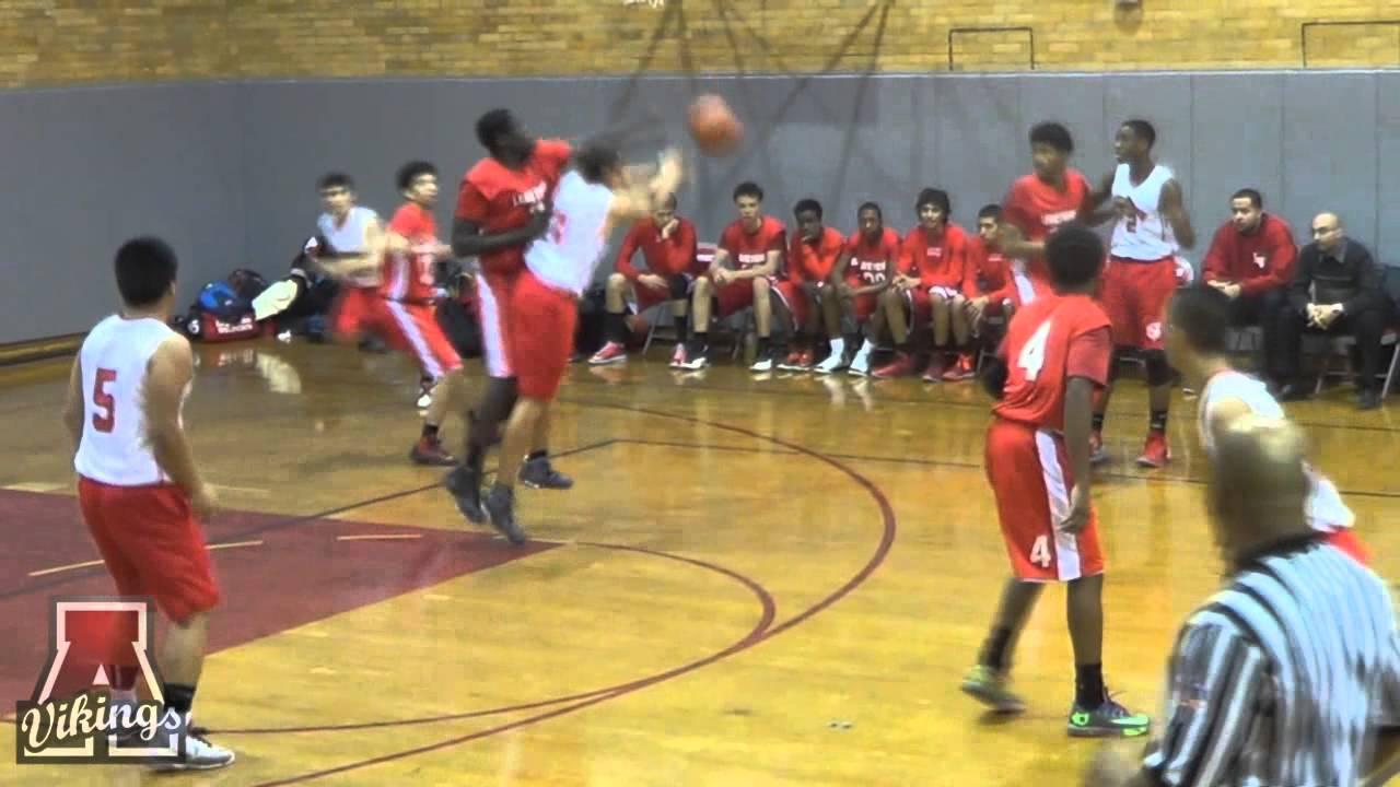 Amundsen High School Boys Basketball Game 1 15 2014 Youtube