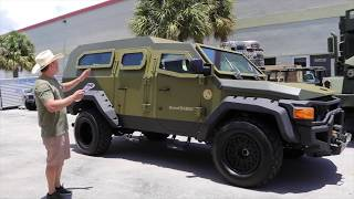 "2012 Ford F550 ""RhinoCHARGE"" Walkaround and Test Drive! BULLETPROOF"