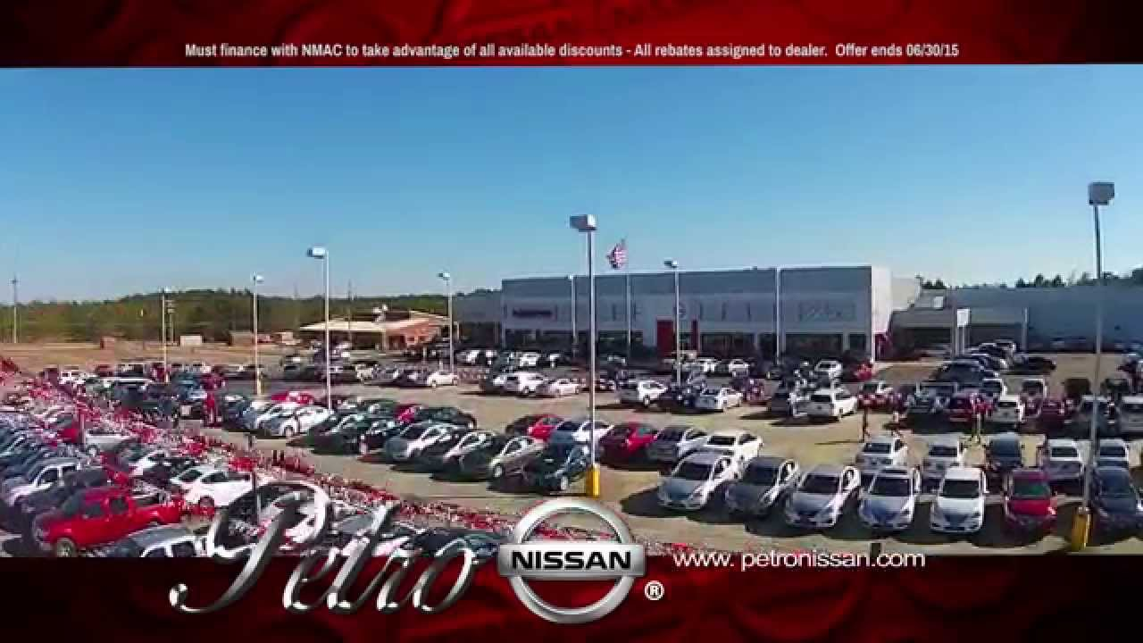 Captivating WDAM Commercial   Petro Nissan   June 2015   YouTube