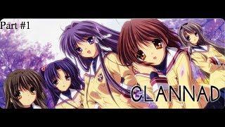 Clannad - Visual Novel Gameplay/Walkthrough Part 1