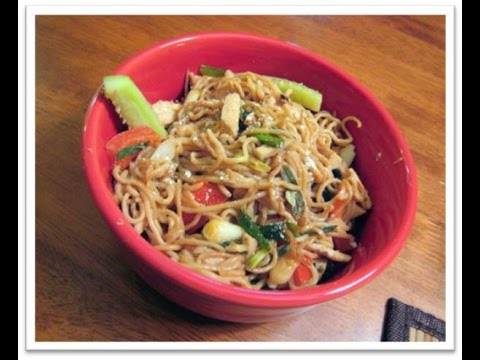 Tuna With Wasabi Noodles recipe