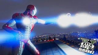 Iron Man 2.0! Iron Man Legion (GTA 5 Iron Man Mod Gameplay)