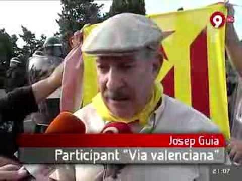 Notícia a Canal 9 RTVV sobre el #tramPV de la Via Catalana (Vinaròs)