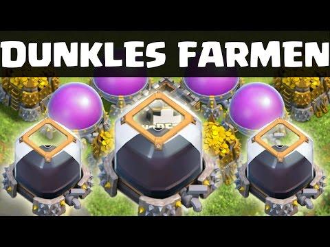 DUNKLES ELIXIER FARMEN    CLASH OF CLANS    Let's Play CoC [Deutsch/German HD]