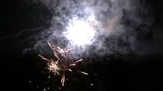 Born am Darß Silvester-Feuerwerk am Hafen 2015-2016