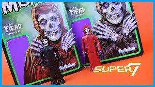 Super7 ReAction MISFITS FIEND Action Figure Toy Review
