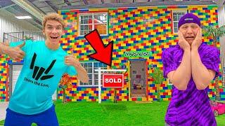 Buying Worlds Largest LEGO House!! *Unspeakable Cried*