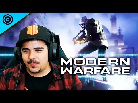 REACCIONANDO al Trailer de COD MODERN WARFARE! - Un nuevo inicio?