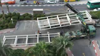 תוספת 200 מרפסות בשלושה שבועות  עם לוחות רצפה דחוסים במיוחד מלון ספא לוט  ים המלח