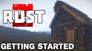 Rust Gameplay - GangZ Roleplay - Getting Started - Ep 1