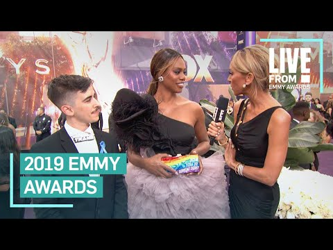 At Emmys, Laverne Cox shines spotlight on LGBTQ Supreme Court cases
