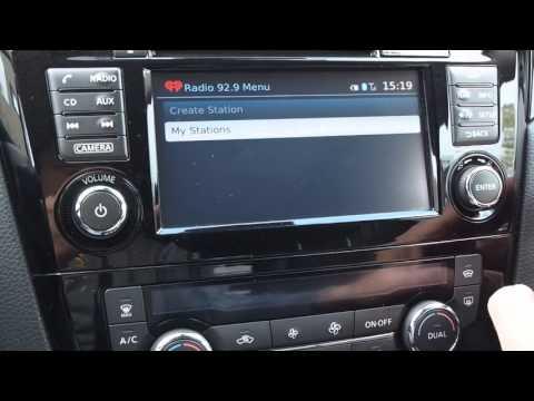 Qashqai J11 - Pandora & iHeart Radio (Connect apps)