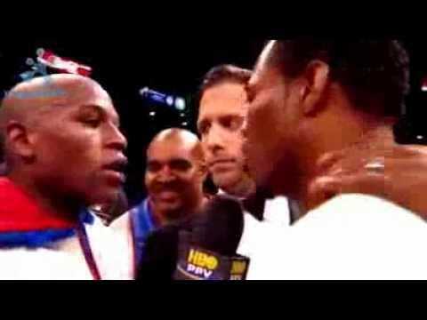 """Floyd """"MONEY"""" Mayweather Vs Shane """"SUGAR"""" Mosley"""