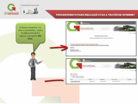 citas por internet para licencia conducir estado de mexico
