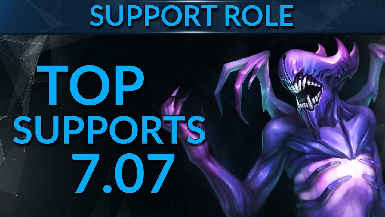 Best Support Heroes In Patch 7 07 Dota 2 Guide Youtube