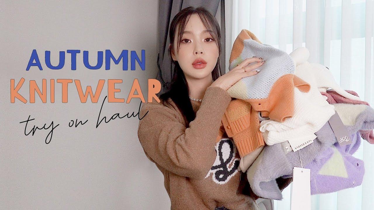 요즘 입기 딱 좋은 니트 10종 Haul🧦   Autumn Knitwear