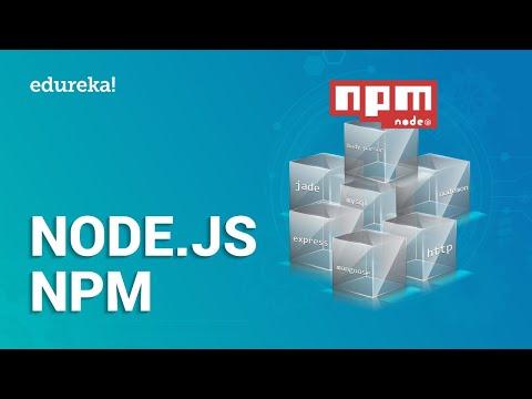 Node.js NPM Tutorial For Beginners | Learn Node.js Package Manager | Node.js Tutorial | Edureka thumbnail
