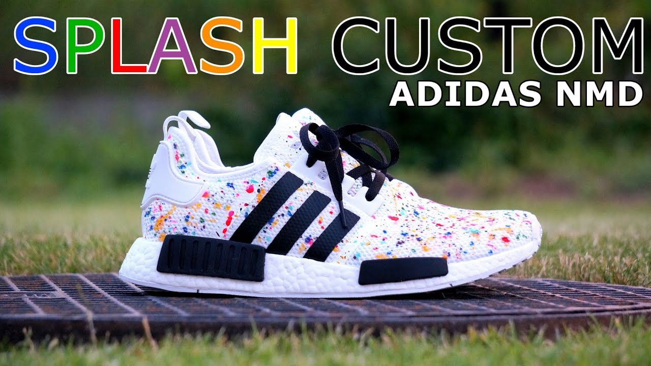 PORADNIK TUTORIAL  Adidas NMD Multicolor Splash Custom  8343f0d56