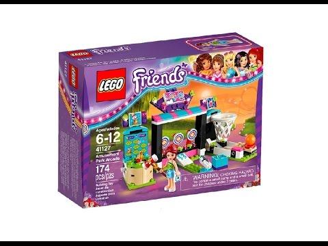 LEGO Friends 41127 Amusement Park Arcade, Лего Френдс Галерея игровых автоматов в парке развлечений