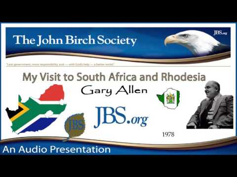 Gary Allen - My Visit to South Africa and Rhodesia (1978)