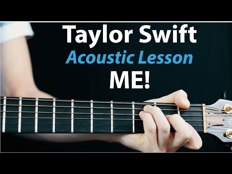 ME! - Taylor Swift: Acoustic Guitar Lesson Ft. Panic at The Disco thumbnail