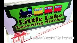 How to make a Sign for your business, Economic, Light Box. Do it your self!
