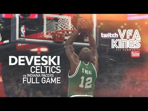 VFA Kings MyLeague GOAT - Celtics vs Pacers