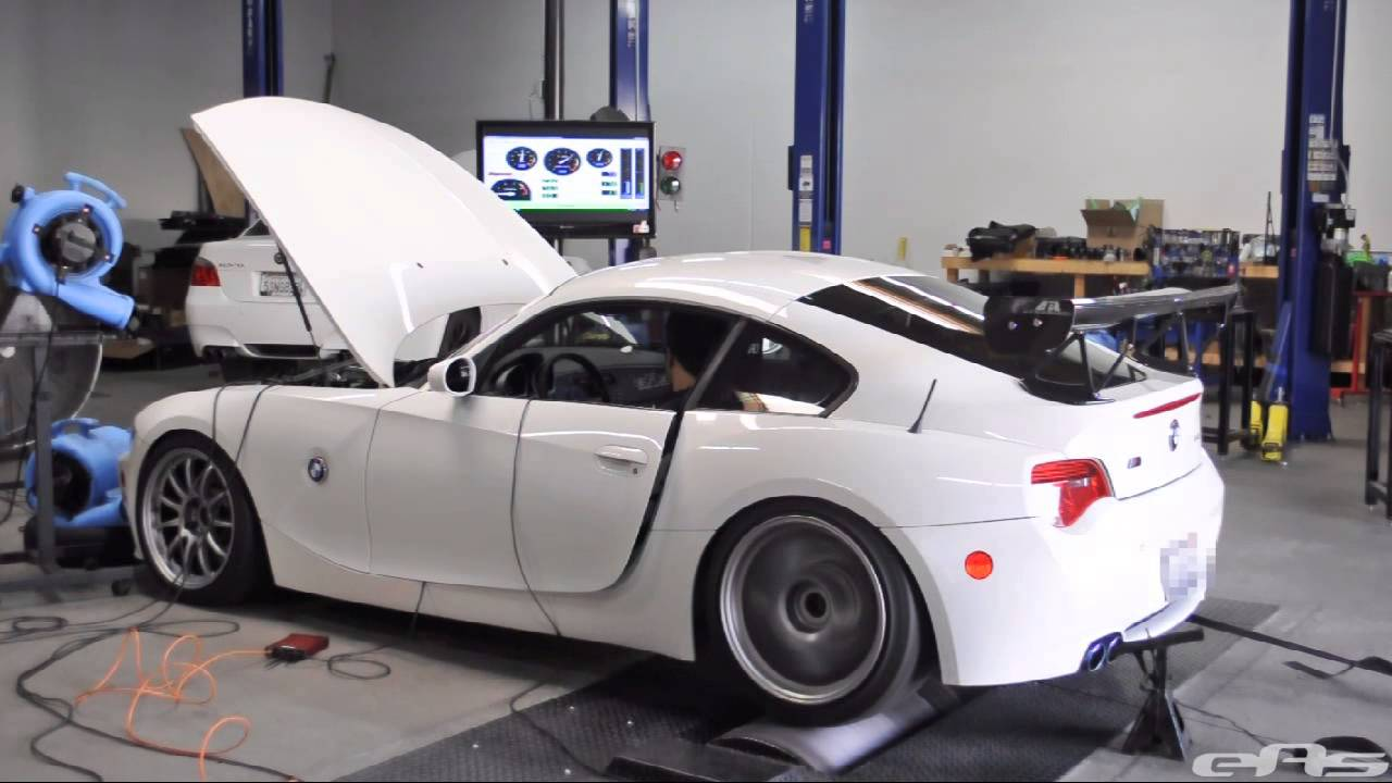 Ess Vt2 525 Supercharged Bmw Z4m Dyno Youtube
