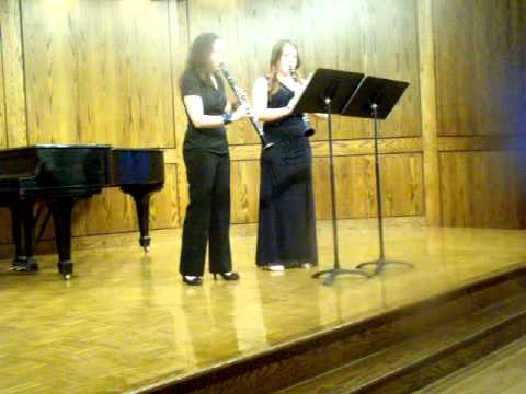 Bedoya- Columbian Dances- Clarinet Duet