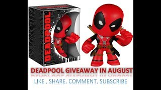 BAM! Geek / Nerd Box July 2018 Unboxing And $60 Deadpool Figure Giveaway By Kal-Electibles