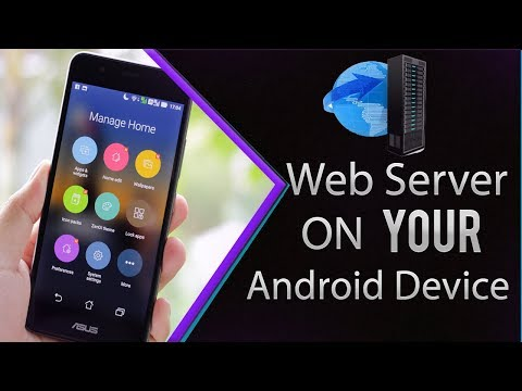 How to Make a Web Server on Your Android...