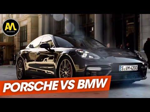 BMW vs Porsche : la BMW M5 face à la Porsche Panamera Turbo
