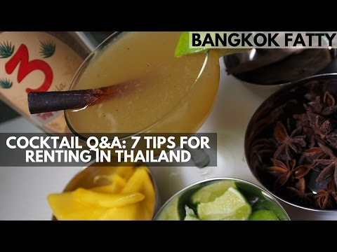 Cocktail Q&A: 7 Basic Tips for Renting in Thailand