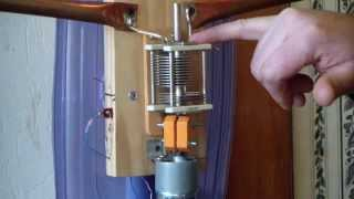 Ham Radio - Magnetic loop transmitting antenna overview and details.