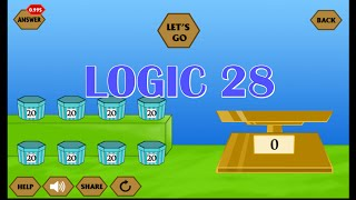 River Crossing IQ Game - Logic 28