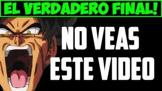 FINAL OFICIAL de la PELICULA DE BROLY - Dragon Ball Super