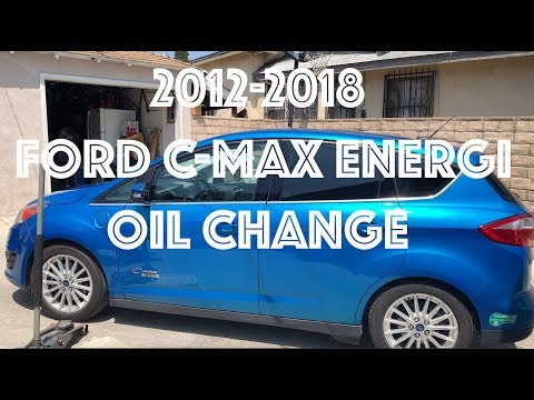 2012-2018 Ford C Max Energi Oil Change Its So simple! Livin Life with Rick & Jerre